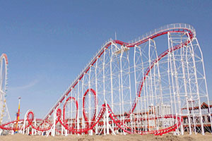 Large Roller Coaster Rides For Sale
