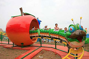 Fruit Worm Roller Coaster For Sale